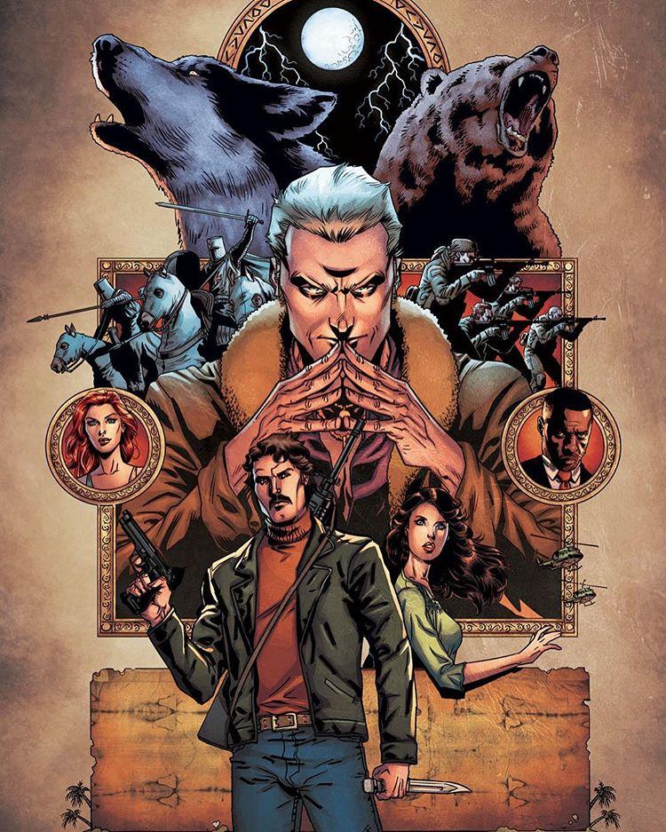 SOLOMON'S MEN, The Graphic Novel is Coming